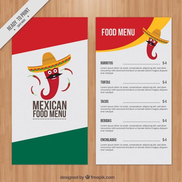 in nhanh menu giá rẻ tại tân phú