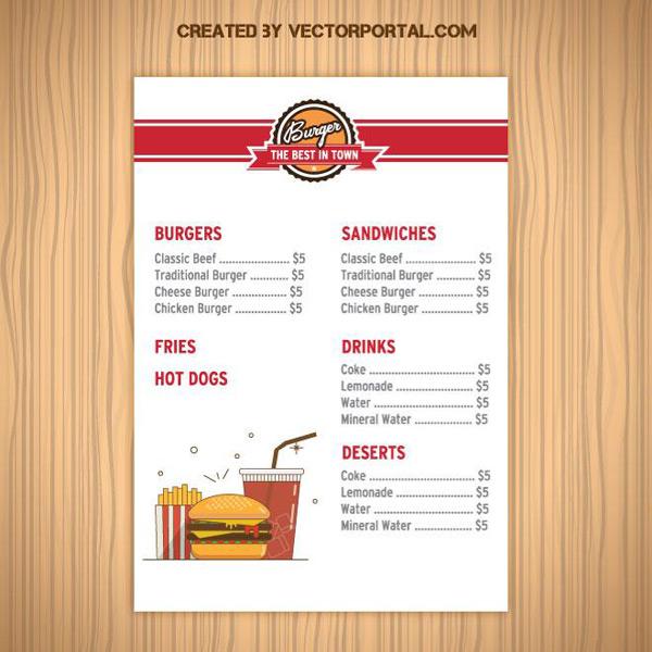 in menu giá rẻ tại tân phú
