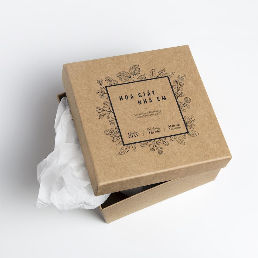 Ưu điểm của in hộp giấy bảo vệ môi trường